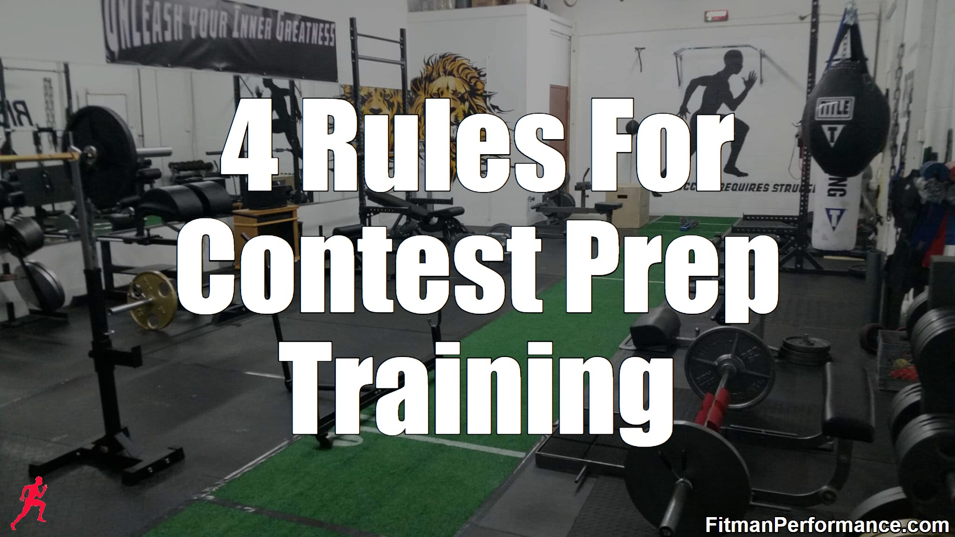 4 rules for contest prep training